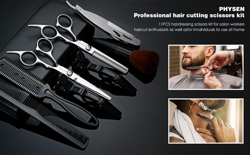 Hair Cutting Scissors Set