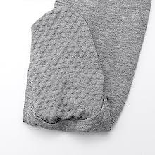 Non-slip grip baby footie pajamas