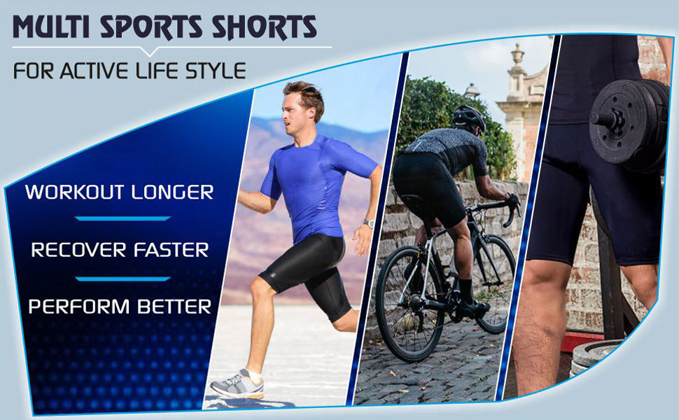 Workout running gym cycling Shorts