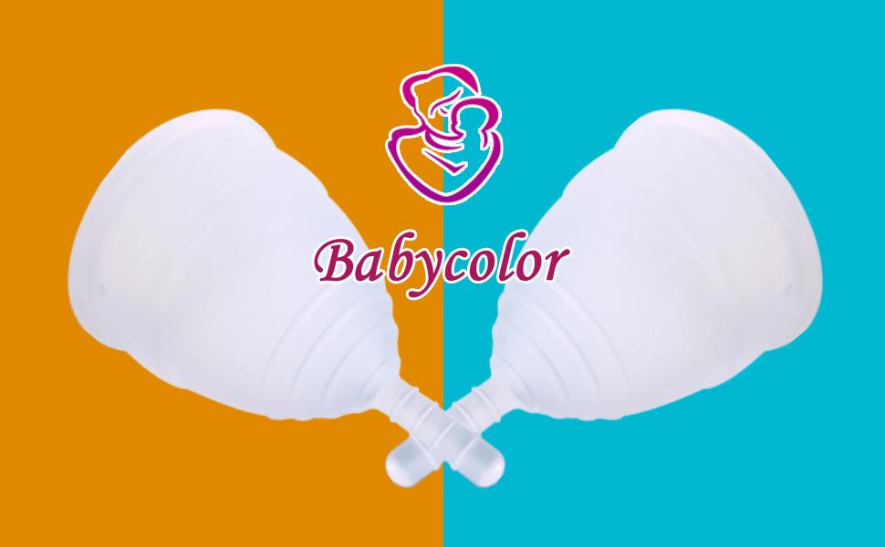 Copa menstrual de silicona – Bio Copa Menstrual Talla S/L – Transparente reutilizable flexible menstrual Cup