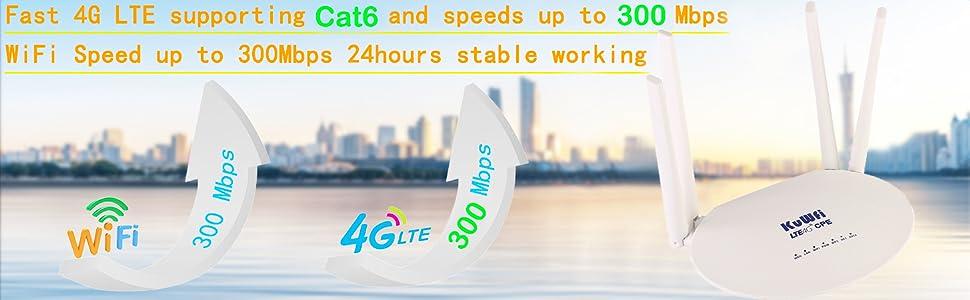 KuWFi 4G WiFi Router