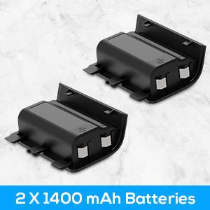 2 Packs Long-lasting Battery