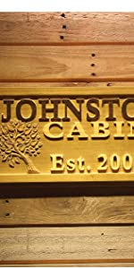 ADVPRO wood-en sign Personalized text man cave wedding gift name date
