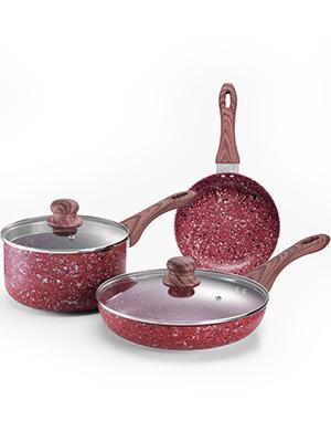 Saucepan and skillet
