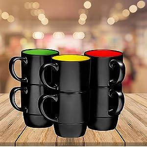Insulated Glasses Espresso Mugs