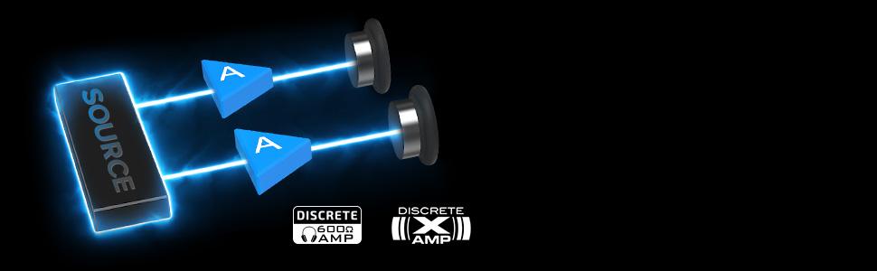 Xamp Discrete Headphone Bi-amp
