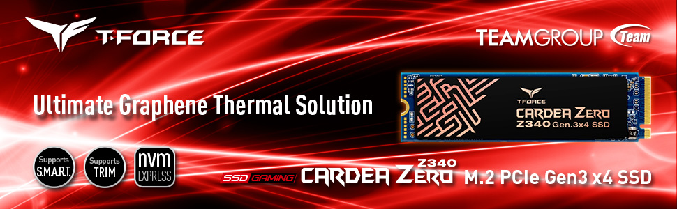TEAMGROUP Cardea Zero Z340 M.2 PCIe GEN3 x4 SSD