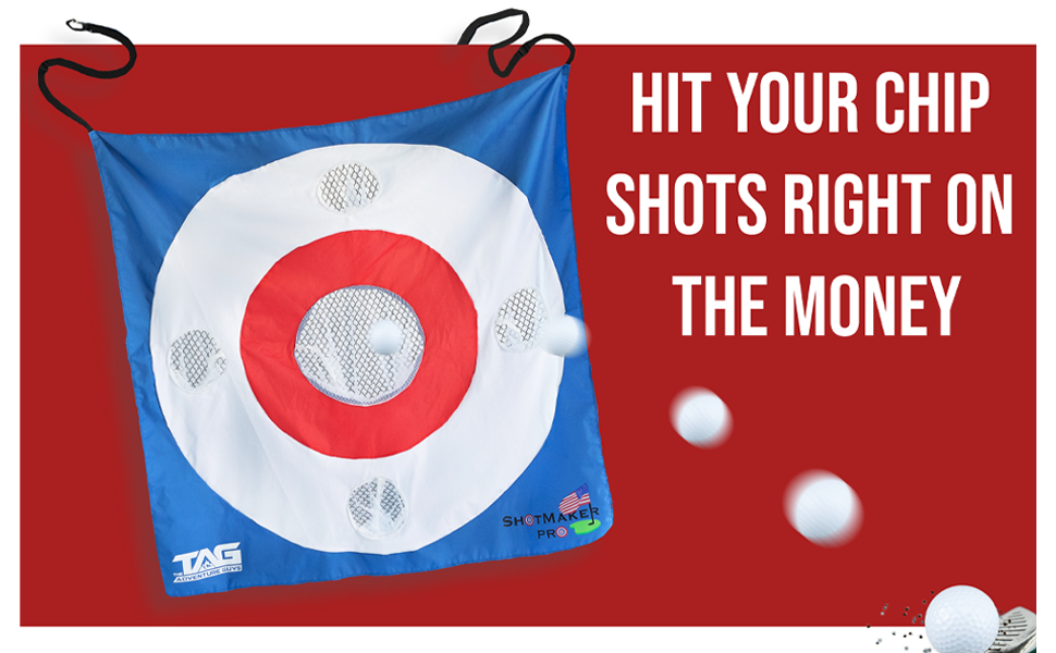 Hit your chip shots right on the money