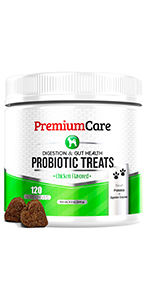 Probiotics Dogs Digestive Enzymes Diarrhea Digestion Allergy Hot Spots Immunity premium care