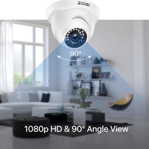 1080p HD & 105° Angle View