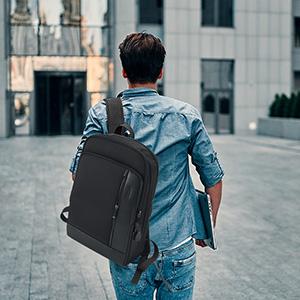 small travel backpack for men