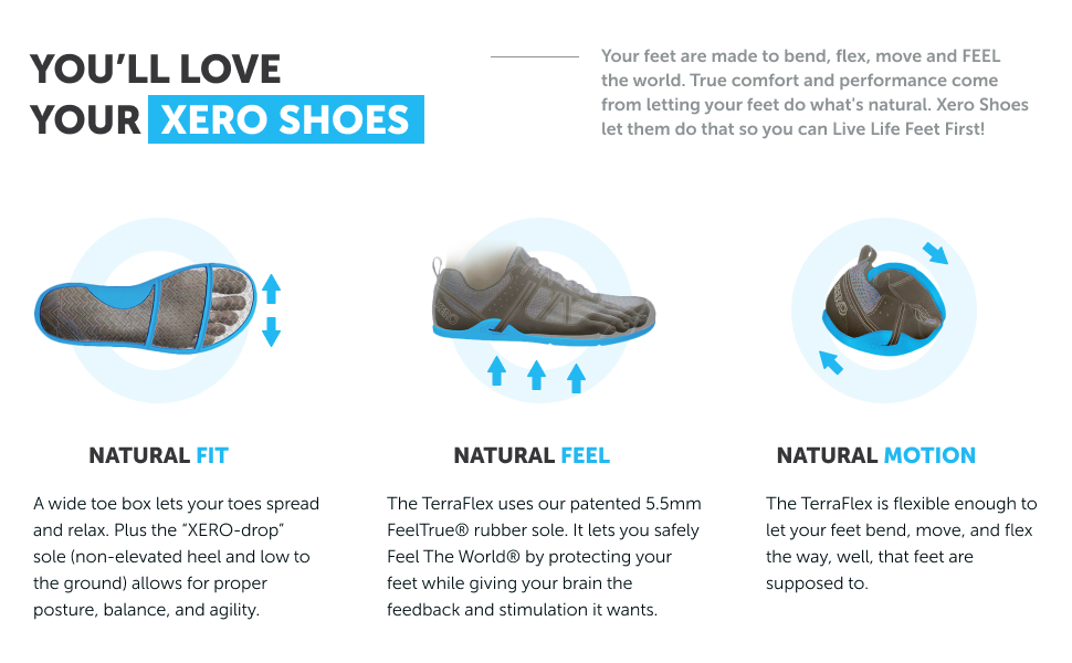 xero shoes natural fit natural feel natural motion
