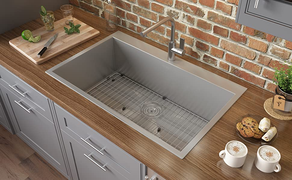 Drop-in Topmount Kitchen Sink