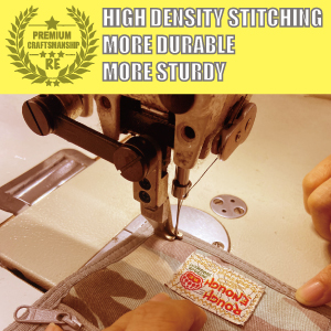 Rough Enough durable sturdy wallet is craft handmade high density stitching for kids teen boys girls
