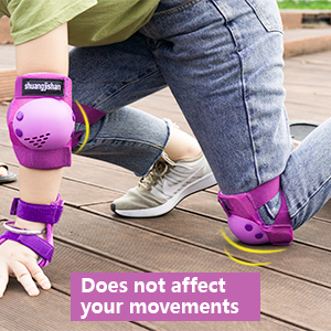 Knee pad safety