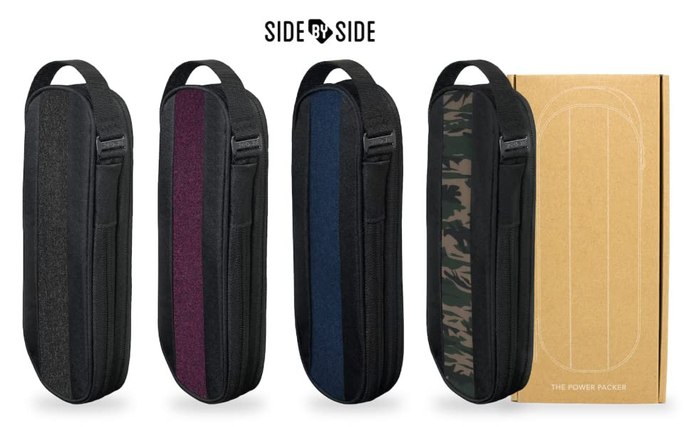 side by side power packer tech pouch