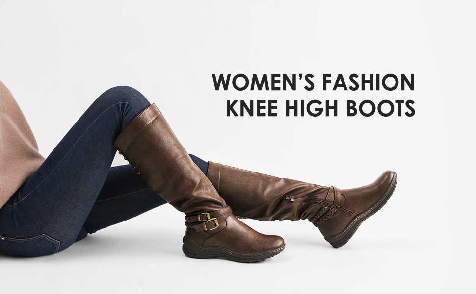 womens fashion kne high boots