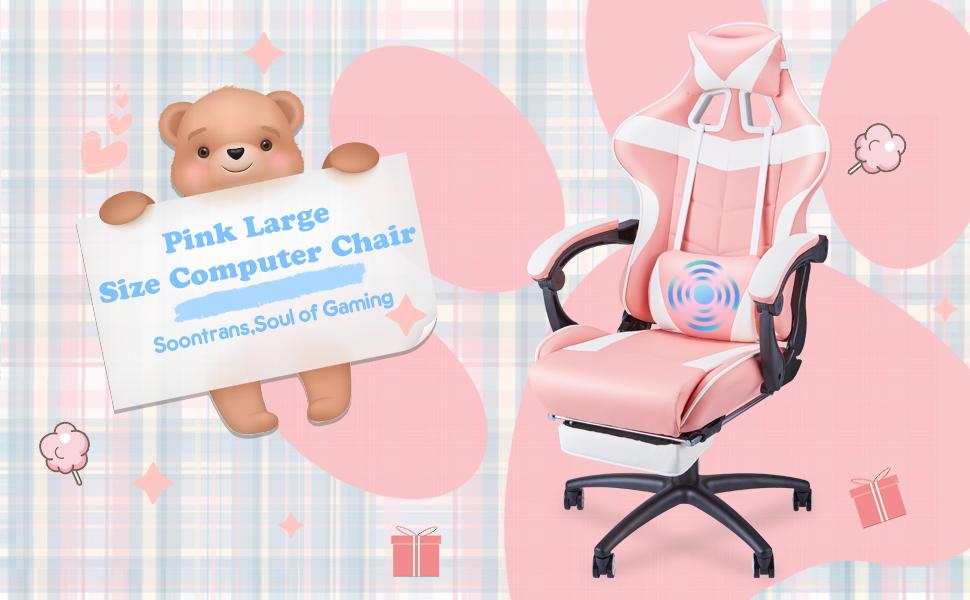 Massage Plus Gaming Chair