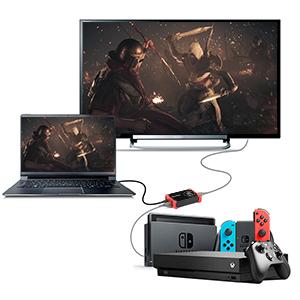 ShuOne USB 3.0 Dispositivo de Tarjeta de Captura de Juegos HDMI con HDMI Salida de Lazo Vídeo HDCP 1080P Windows 7 8 10 Linux Youtube OBS Twitch para ...