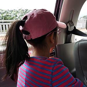 trip camping travel ponytail cap hat cute cool play game pink teen toddler youth baseball cap