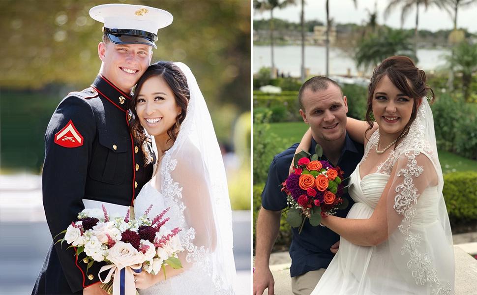 short wedding veil