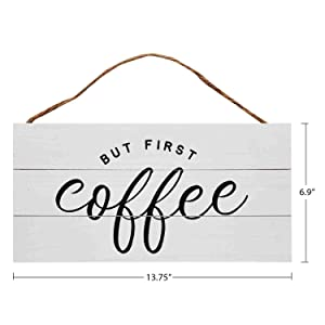 Wooden Hanging Sign