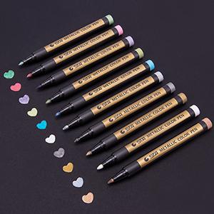 metallic marker pen