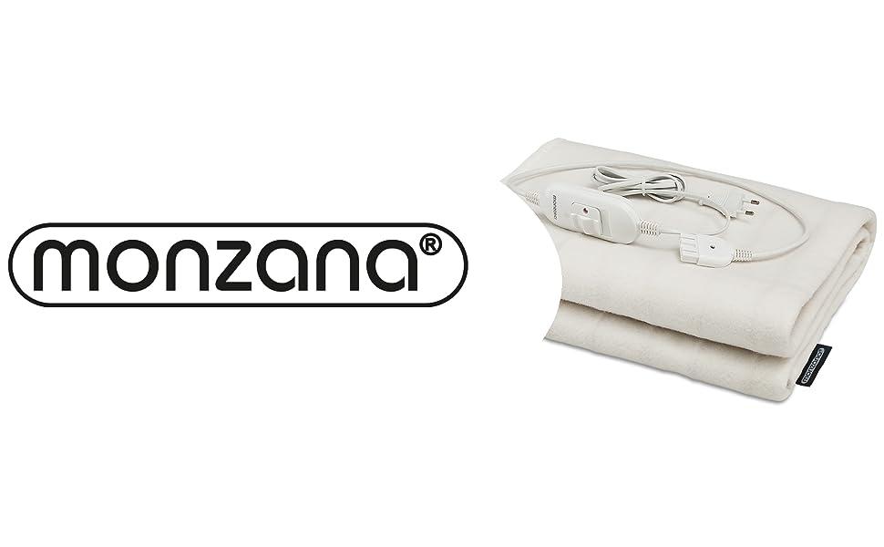 monzana® Heizdecke Heizmatte Wärmedecke Wärmeunterbett Decke 150x80cm 60W