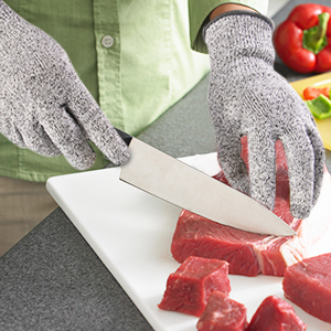 cut resistant gloves,cut resistant gloves xl,cut resistant glove kitchen,cut resistant glove level 5