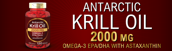 antarctic krill oil 2000 mg omega 3 epa dha  with astaxanthin