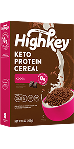 cocoa chocolate keto protein cereal