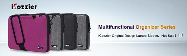Icozzier 13 13 3 Zoll Notebook Hülle Sleeve Tasche Mit Elektronik