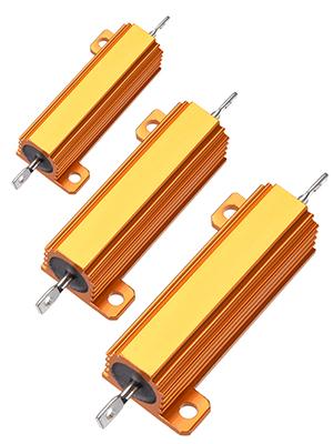 Resistor with Aluminum Case