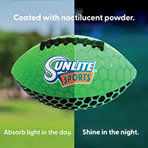 glow noctilucent powder football sunlite sports outdoor park absorb shine glow waterproof