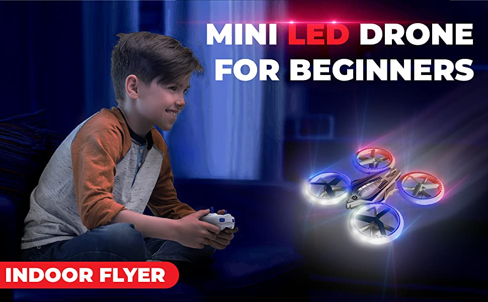 led light up glow in the dark kids toys drones mini drone racing rc small quadcopter beginners