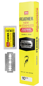 Double Edge Safety Razor Blades - 200 Count
