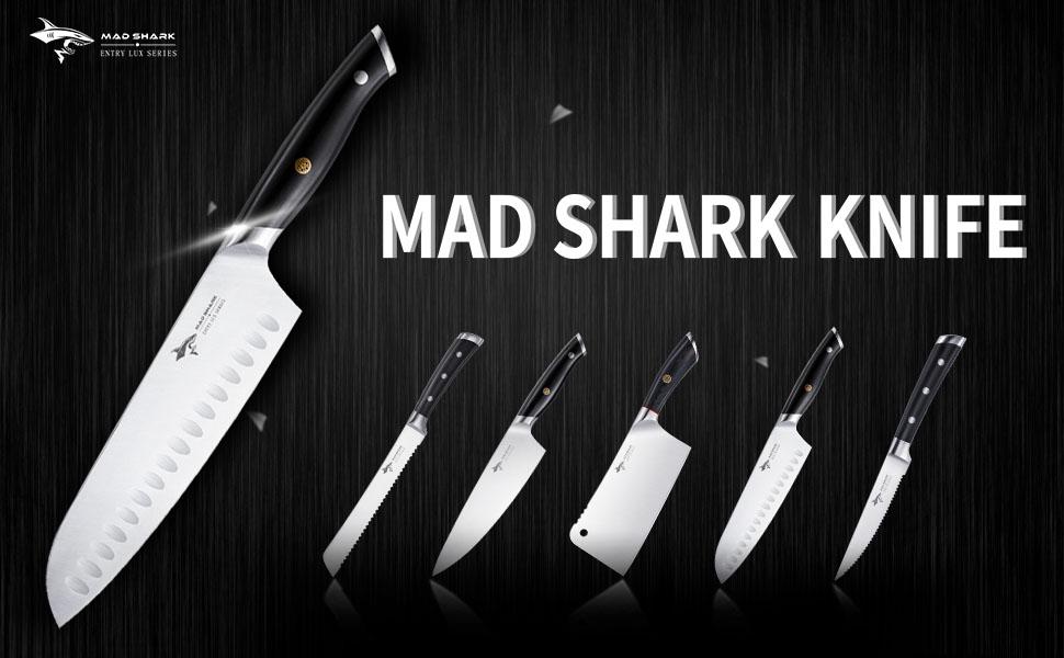sharp kitchen knife