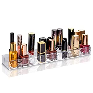Clear lipsticks Organizer