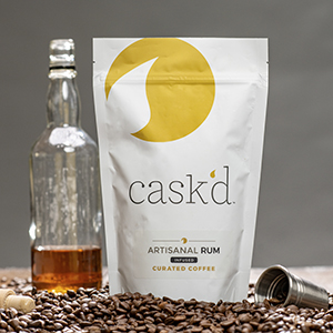 Cask'd Rum Infused coffee beans