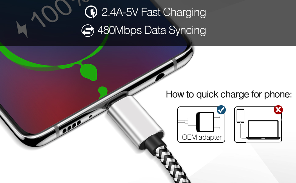 Fast Chargingamp;Data Syncing