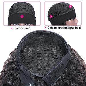 headband wig inside