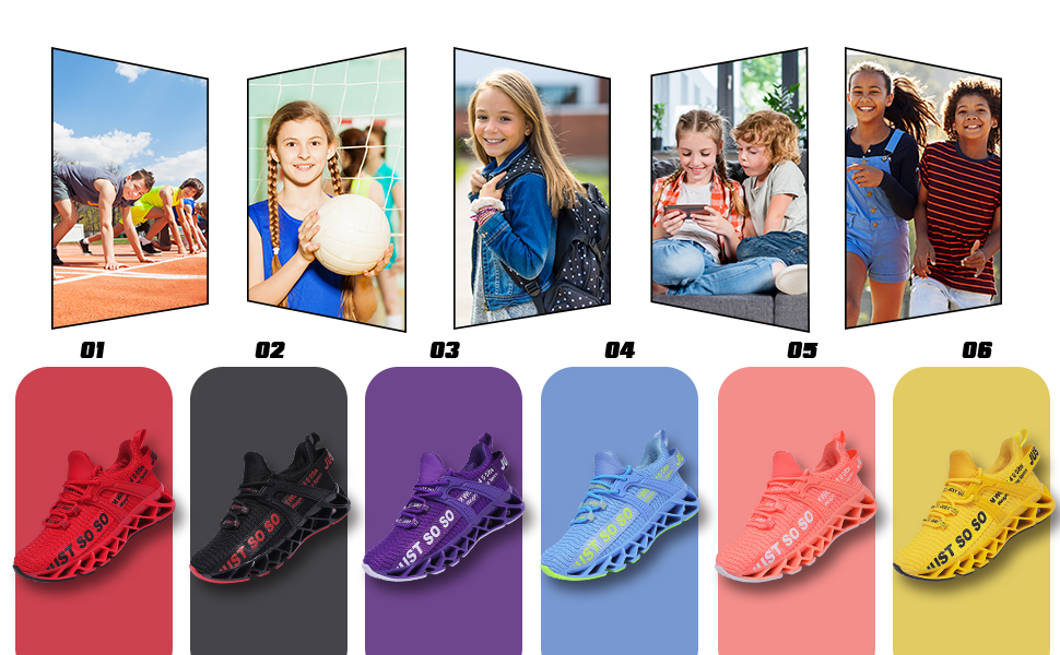 Sneakers for girls and boys