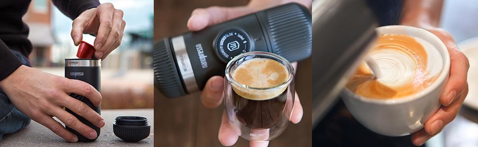 Wacaco Nanopresso NS Adaptateur Café Capsules nespresso Accessoire Plein Voyage