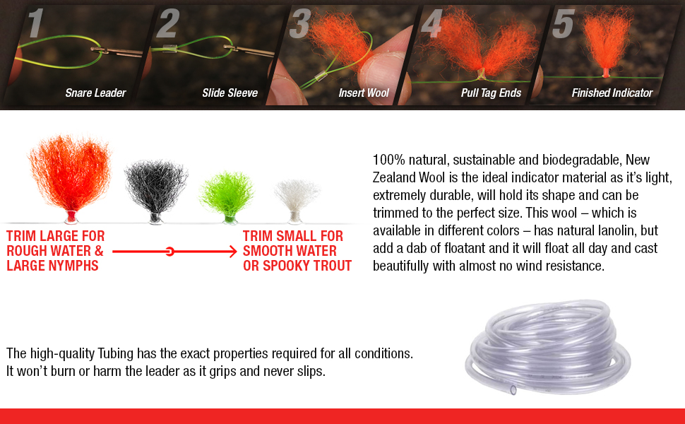 quick release strike indicators, best fly fishing indicators, fly bobber, trout fishing equipment