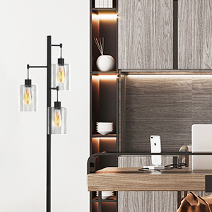 industrial floor lamps for office