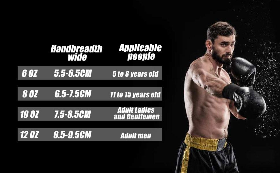 Boxing Training Gloves for Men & Women