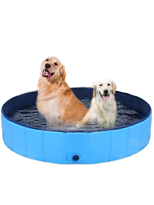 Foldable Dog Pet Kids Bath Pool