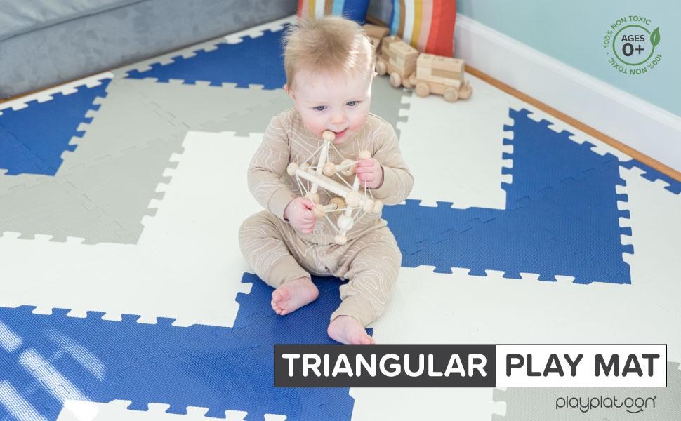 Play Platoon Trinangular Play Mat
