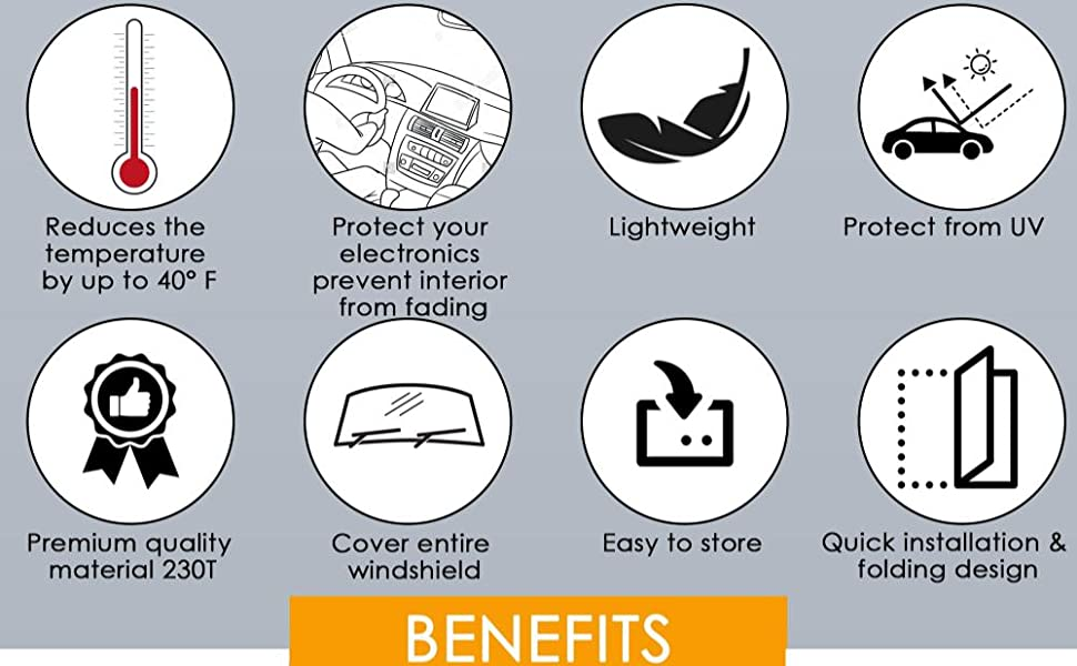 Sunshade benefits