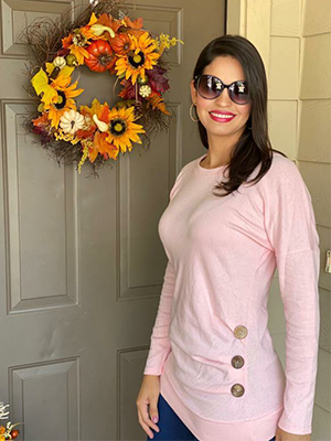 pink long sleeve tunic tops to wear with leggings festival